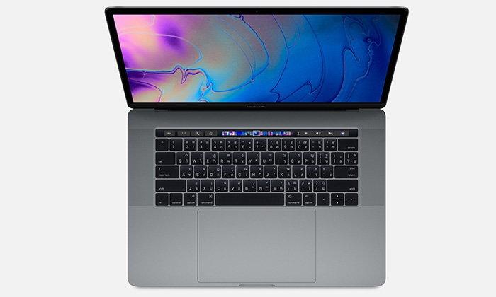 MacBook Pro เพิ่มรุ่นใหม่ขุมพลัง Intel Core แบบ 8 Core ตัวท็อปสุดราคา 243,900 บาท