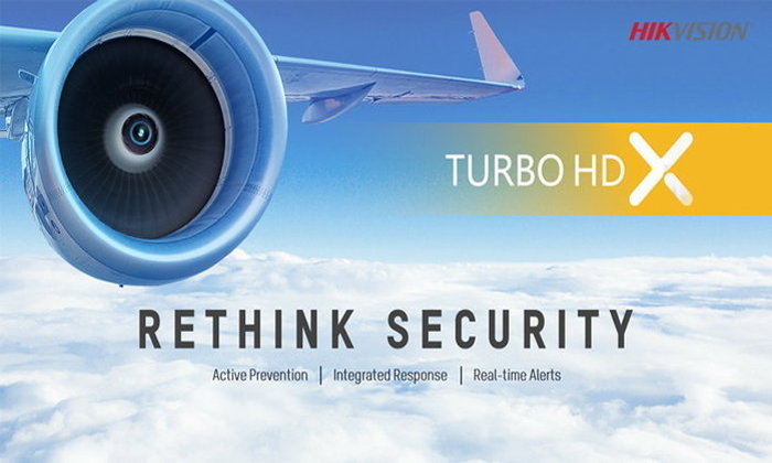Hikvisionเปิดตัวกล้องวงจรปิดรุ่นใหม่Turbo HD X