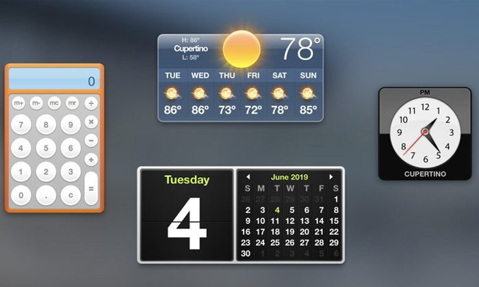 Apple ยืนยันยุติบทบาทของ Dashboard ใน macOS แน่นอน