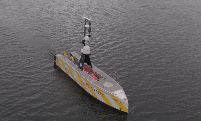 """""""เรือไร้คนขับ"""" ลำแรกจะแล่นข้ามมหาสมุทรแอตแลนติก"""