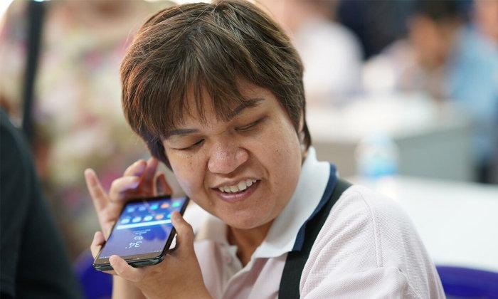 ซัมซุงหนุนนวัตกรรม ก้าวข้ามผ่านข้อจำกัดผู้พิการทางสายตา ด้วยเทคโนโลยีสมาร์ทโฟน