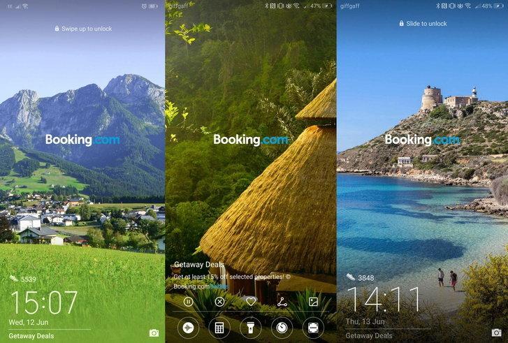 Huawei กล่าวขออภัยผู้ใช้งานกรณีมีโฆษณา Booking ปรากฏบน Lock screen