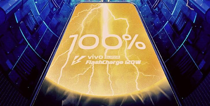 Vivo เปิดตัว Super FlashCharge ระดับ 120 W : ชาร์จแบต 4,000 mAh เต็มใน 13 นาที