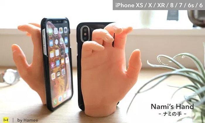 คลายเหงากับ Nami's hand เคสโทรศัพท์จับมือได้
