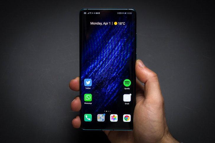 สมาร์ตโฟน Huawei รุ่นต่อไปอาจมาพร้อมกล้องเซลฟีซ่อนใต้จอ