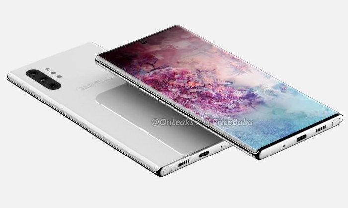 หลุดภาพฟิล์มกันรอยของSamsung Galaxy Note 10เผยข้างหลังเหมือนกับภาพRenderทุกประการ