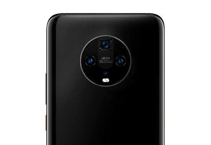 เปลี่ยนหนีเพื่อน Huawei Mate 30 อาจใช้ดีไซน์กล้องวงกลมแทน