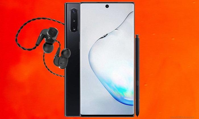 หูฟังติดกล่องของSamsung Galaxy Note 10อาจจะได้ระบบตัดเสียงรบกวนมาให้