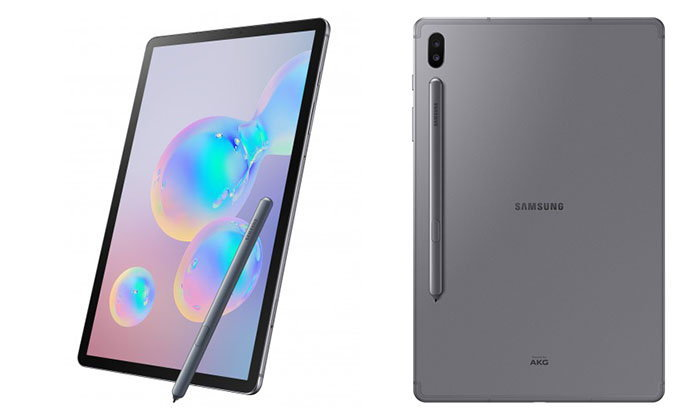 เปิดตัวแล้วSamsung Galaxy Tab S6เรือธงของTabletที่มีระบบสแกนลายนิ้วมือในหน้าจอและปากกาสุดฉลาด