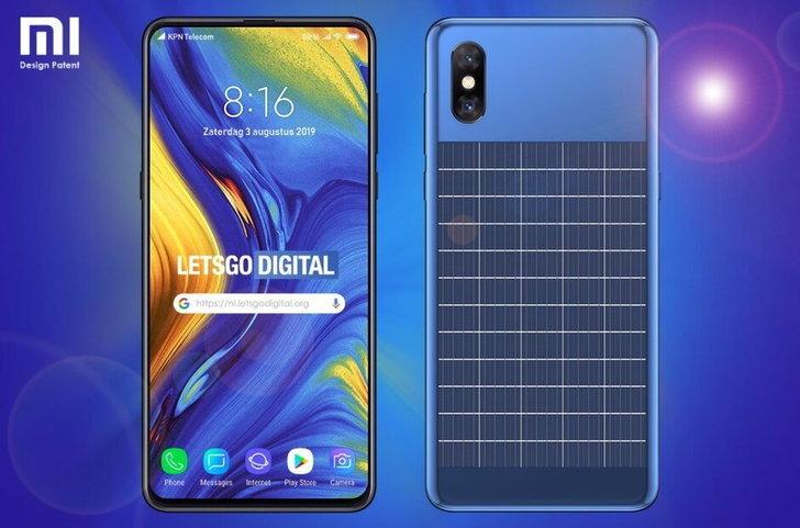 Xiaomi รักษ์โลก  เผยจดสิทธิบัตรสมาร์ตโฟน พลังงานแสงอาทิตย์