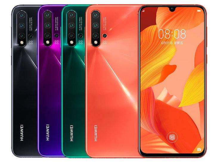 Huawei ขาย nova 5 ได้ถึง 2 ล้านเครื่อง หลังเปิดตัวแค่เดือนเดียว