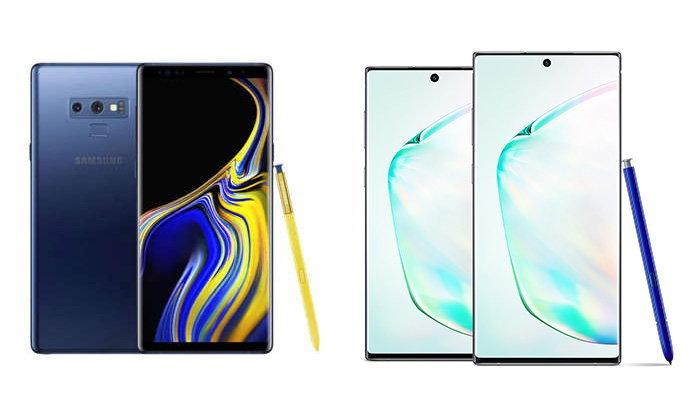 เปรียบเทียบSamsung Galaxy Note 10+ VS Galaxy Note 9แตกต่างกันอย่างไร