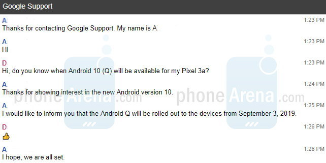Google Android 10