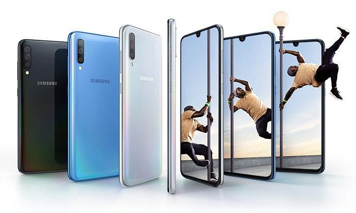หลุดดีไซน์ของSamsung Galaxy A70sก่อนเปิดตัวในเดือนหน้า