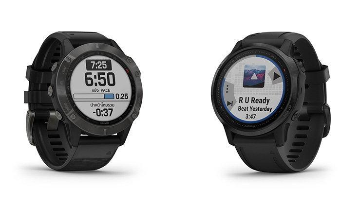 Garmin Fenix 6นาฬิกาSport Watchเปิดจำหน่ายในประเทศไทยแล้วเริ่มต้น22,900บาท
