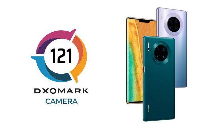 Huawei Mate 30 Proขึ้นแท่นอันดับ 1 ด้านกล้องจากDXOMark ด้วยผลรวมกว่า121คะแนน