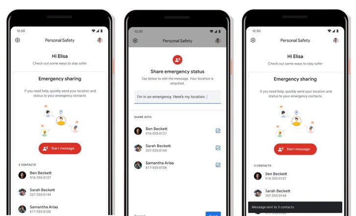 Google เปิดตัวแอป Personal Safety ตรวจจับอุบัติเหตุทางรถยนต์แล้วโทรเรียก 911 อัตโนมัติ