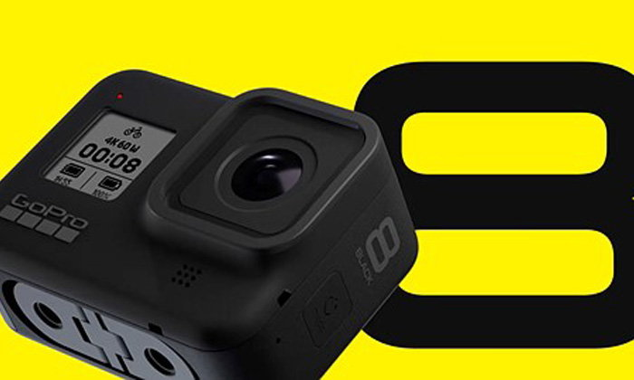 GoPro Hero 8Black กล้องAction Cameraสายลุยตัวจริงเปิดตัวแล้วพร้อมติดอุปกรณ์เสริมได้