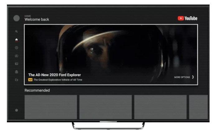 YouTube ประกาศแสดงป้ายโฆษณาขนาดใหญ่บนแอป TV ที่เปิดชมบนสมาร์ตทีวี จะใหญ่ไปมั้ย!