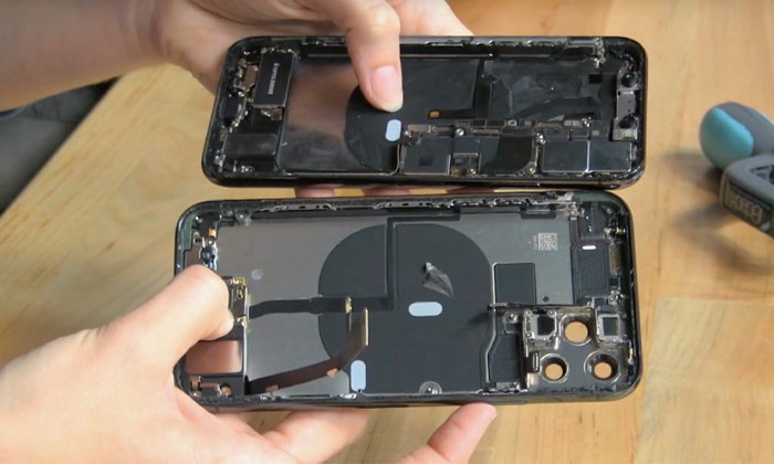 iFixit ไลฟ์แกะ iPhone 11 Pro พบบอร์ดใหม่เล็กใต้แบตเตอรี่ คาดเกี่ยวกับฟีเจอร์ที่ยังไม่ได้เปิด