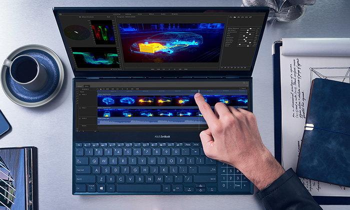 ASUS เปิดตัว ZenBook Pro Duo (UX581) พร้อม ZenBook Duo (UX481) โน้ตบุ๊กสองจอเพื่อครีเอเตอร์