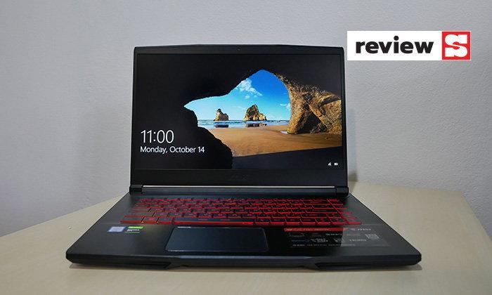 [รีวิว] MSI Gaming Notebook GF63 Thinรุ่นกลางแต่ยังให้ประสิทธิภาพที่ดีและน้ำหนักเบา
