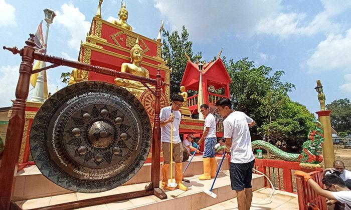 เสียวหมี่ ชวนหมี่แฟนและสื่อมวลชน มอบเงินบริจาคให้สภากาชาดไทย เยียวยาช่วงน้ำลด