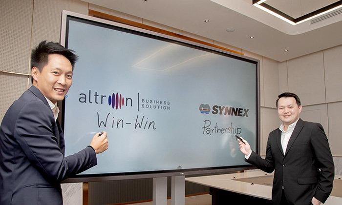 อัลทรอน จับมือ ซินเน็คฯ รุกตลาดกลุ่มธุรกิจองค์กร แนะนำ altron Interactive Whiteboard