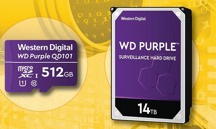 WD เปิดตัว Hard Disk Purple รุ่นใหม่ทั้ง MicroSD และ Hard Disk ความจุสูงขึ้นทนกว่าเดิม