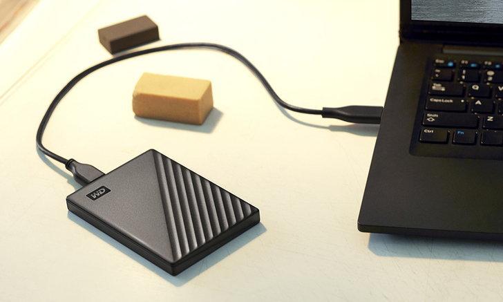 WDเผยโฉมHard Diskแบบพกพาความจุสูงระดับ5TBแต่ยังได้ความบางเฉียบ