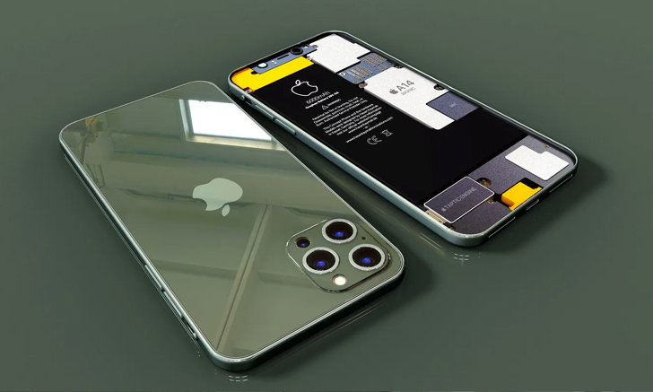 ชมภาพเรนเดอร์ iPhone 12 Pro Max (2021) ใหม่ล่าสุด