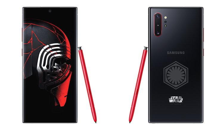 เผยโฉมSamsung Galaxy Note 10+ Star Wars Editionมาครบทุกสิ่งตกแต่งในThemeของStar Wars