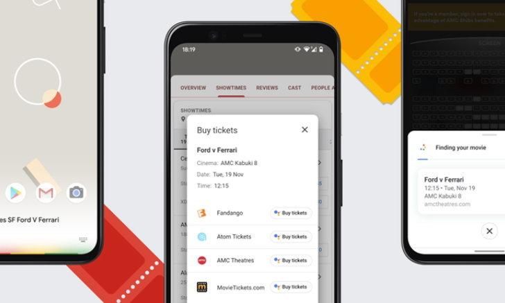 Google เปิดตัว Assistant บน Chrome ซื้อตั๋วหนังง่าย ๆ เพียงไม่กี่คลิก!