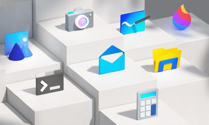 สวย! Microsoft เผยไอคอนและโลโก้แอปออกแบบตามหลัก Fluent Design!