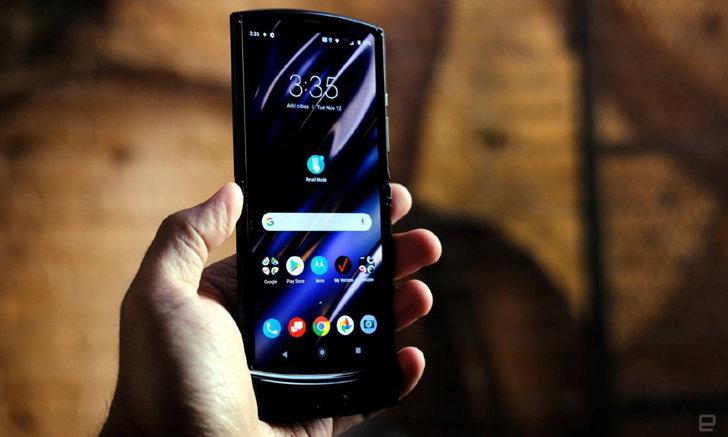 Motorola เลื่อนการเปิดจอง Razr เพราะคนจองเยอะเกินไป