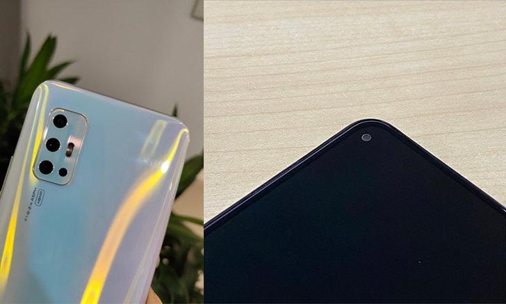"""หลุดภาพเครื่องจริง Vivo V17 หน้าจอ Ultra """"O"""" Screen พร้อมกล้องหลัง 4 ตัวแบบใหม่"""