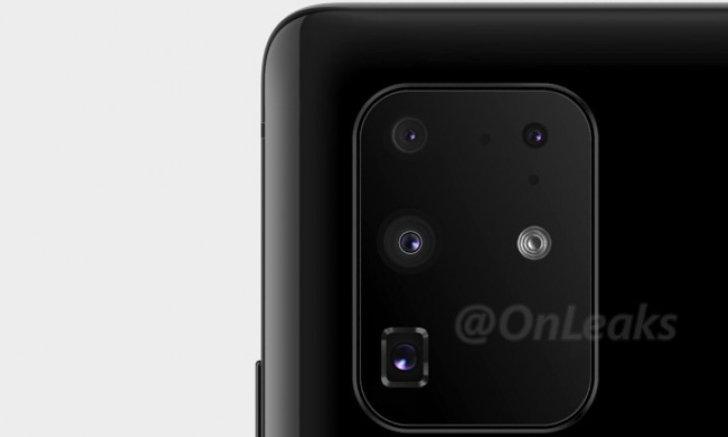ภาพหลุดล่าสุดเผยตำแหน่งติดตั้งกล้องใหม่ของ Samsung Galaxy S11+