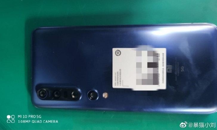 """ดูกันชัด ๆ ภาพตัวเครื่องจริง """"Xiaomi Mi 10 Pro"""" รองรับ 5G และมีที่ชาร์จระดับ 65 W"""