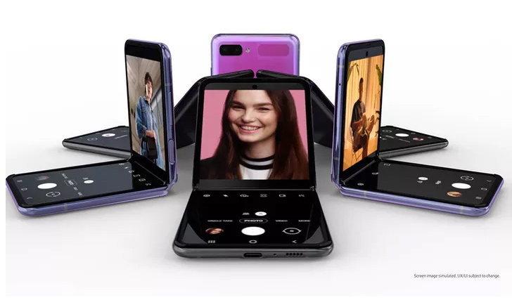 Samsung Galaxy Z Flip มือถือฝาพับ เปิดตัวอย่างเป็นทางการแล้ววันนี้