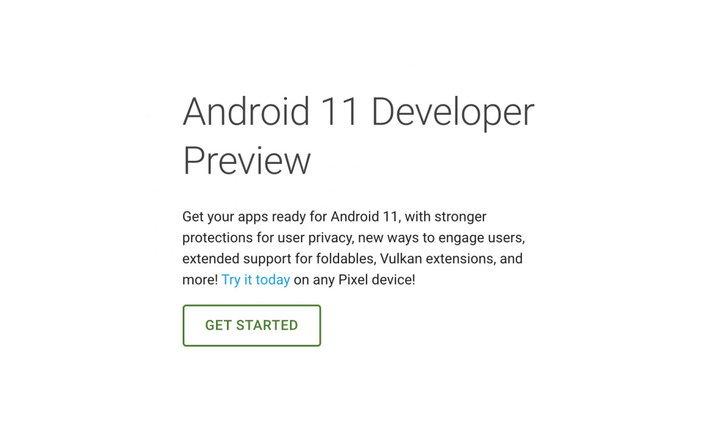 หลุดหน้าเว็บไซต์โชว์ข้อความAndroid 11 Previewก่อนกำหนดเปิดตัว