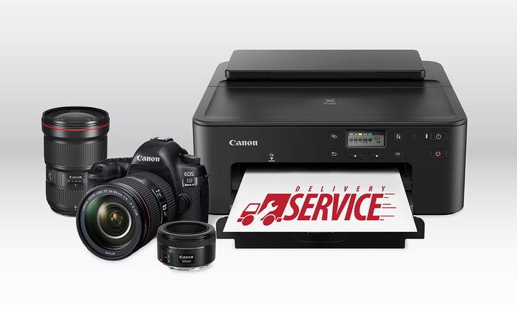 Canon เพิ่มบริการDelivery Serviceรับซ่อมกล้องและพรินเตอร์รับส่งถึงบ้าน ช่วง COVID-19