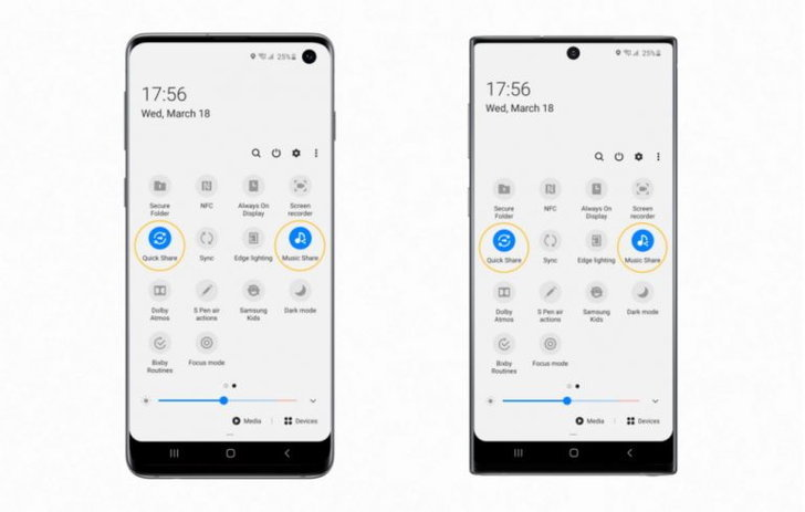 Samsung Galaxy S10 / Samsung Galaxy Note 10