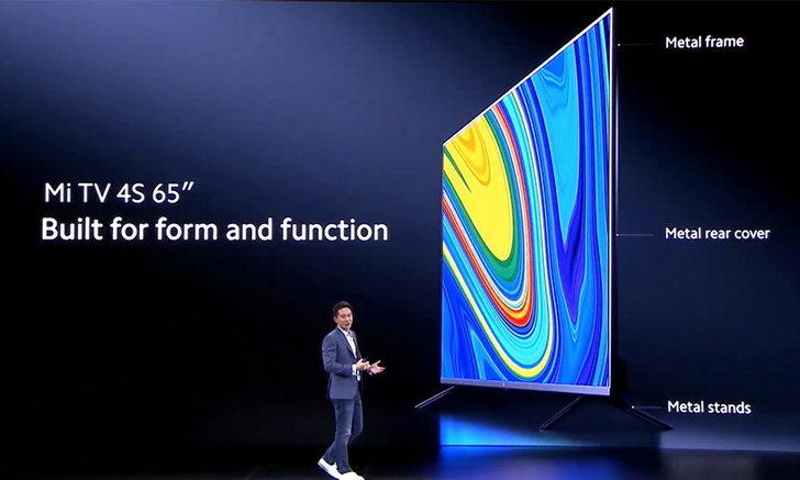 เปิดตัว Xiaomi Mi TV4sสมาร์ททีวีขนาด65นิ้วรุ่นใหม่