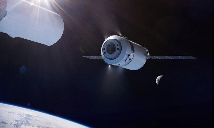 SpaceX จะได้ส่งเสบียงไปสถานี Lunar Gateway ของ NASA ด้วยยานใหม่ Dragon XL
