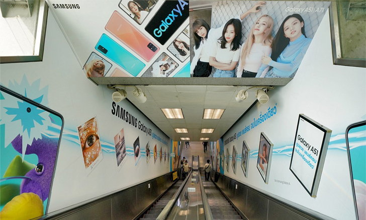 BLACKPINK in Your Area! ซัมซุงเปลี่ยน MRT สถานีสวนจตุจักรเป็นพื้นที่สุด Awesome