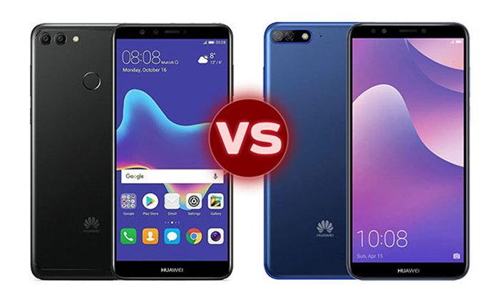เทียบสเปก Huawei Y9 (2018) และ Y7 Pro (2018) สมาร์ทโฟนกล้องคู่น้องใหม่ในราคาหลักพัน