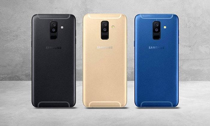 หลุดภาพตัวเครื่องจริง Samsung Galaxy A6+ ที่มาพร้อมจอ Infinity Display