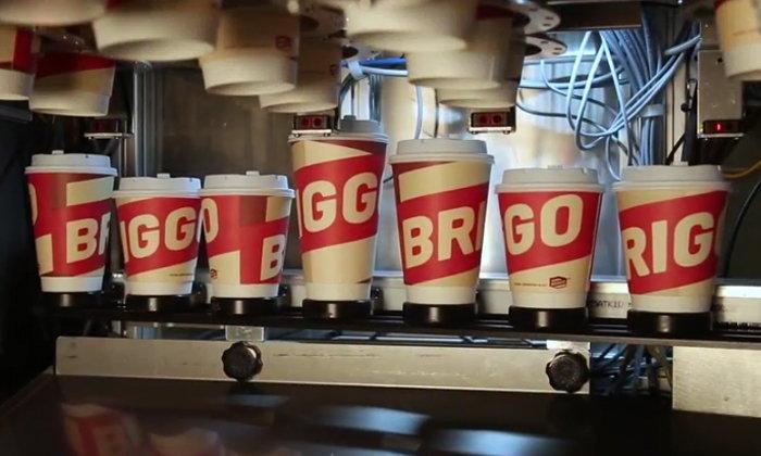 """""""หุ่นยนต์บาริสต้า"""" รุกตลาดกาแฟในเท็กซัส"""