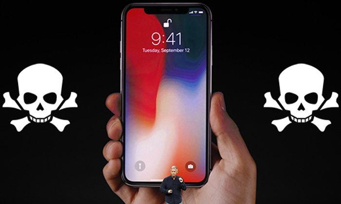 """นักวิเคราะห์สรุปชัด """"iPhone X ได้ตายไปแล้ว"""" เพราะความต้องการของผู้ใช้ไม่เพิ่มสูงขึ้นเลยแม้แต่น้อย"""