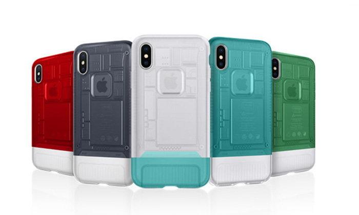 ชมภาพเคส iPhone X ที่ออกแบบย้อยยุคไปถึง iMac รุ่นสีลูกกวาด
